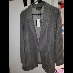 Plus size Pinstriped blazer NWT